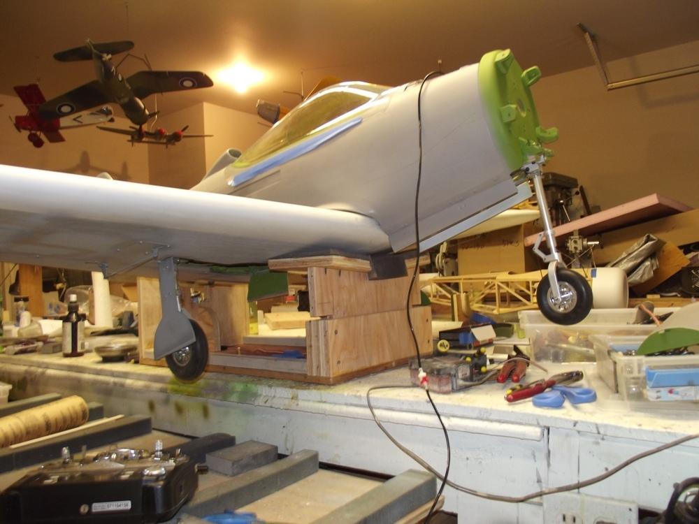 Construction Paul Fleming P 39 Airacobra